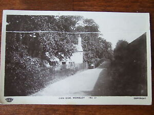 Worsley nr Farnworth, Eccles, DamSide, Grenville series RPPc Tatton St Stockport