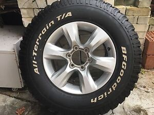 Toyota Prado GXL wheel and tyre, only 1 Kensington South Perth Area Preview