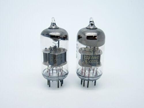 2 x NOS REFLEKTOR 6N23P - 6Н23П - E88CC - 6922 Audio Vacuum Tube OTK 1st Quality