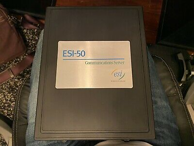 Esi-50 Communications Server - Used - Removed From Working Environment