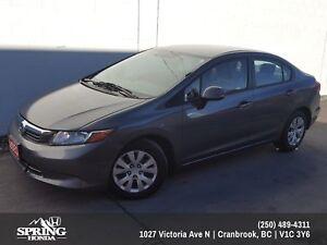 2012 Honda Civic LX $90 BI-WEEKLY