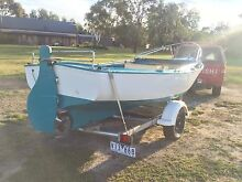 River Putt Putt inc trailer and Bimini - Exellent Condition Meningie The Coorong Area Preview