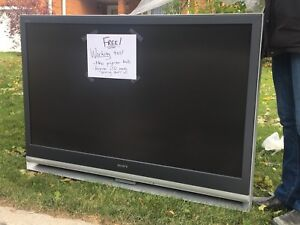 FREE SONY Big Screen Projector TV