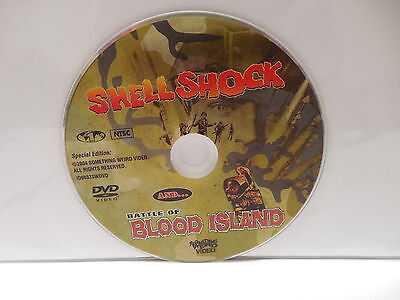 Shellshock & Battle Of Blood Island War Epic Movie DVD NO CASE Roger Corman SWV