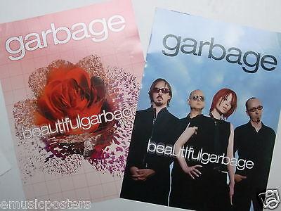 "GARBAGE  ""BEAUTIFUL""  2-SIDED U.S. PROMO POSTER -Shirley Manson,Wisconsin Rocks!"