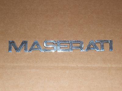 Maserati biturbo emblem May fit others