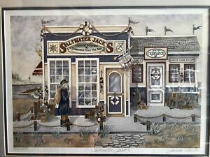 """""""Saltwater Jack's"""" Limited Edition Print by Janice Tanton"""