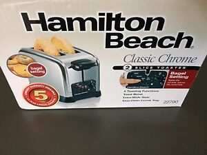 Hamilton beach 2 slice toaster brand new in box