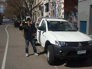 Man with a ute (Removals & Courier) BEST PRICE  in Melbourne Carlton Melbourne City Preview