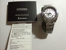 Citizen BU3000-55A Eco-drive watch Werrington County Penrith Area Preview