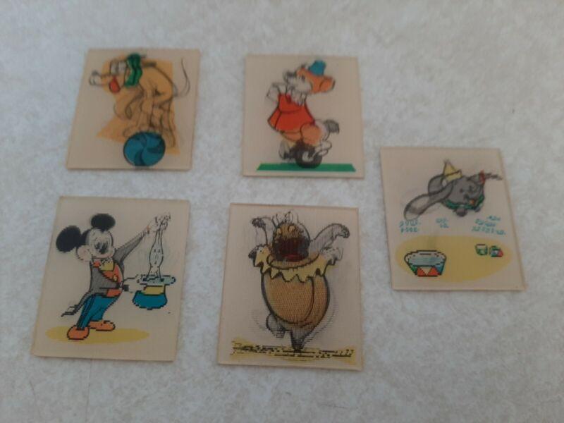 5-1958 Walt Disney Cheerios Cereal Premium Flicker Pictures Mickey-Pluto L4