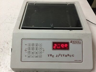 Boekel Scientific 130000 The Jitterbug Microplate Incubator Shaker Power On
