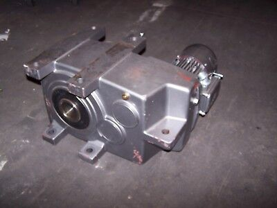 NORD 1.5 HP AC ELECTRIC GEAR MOTOR 3 RPM OUTPUT TORQUE 31524 LB-IN 6382AX-90SH/4