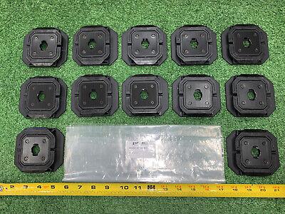 12 Qty -huge Lot- 74028 Axon Camera Wing Cup Mounts Rapid Lock -new