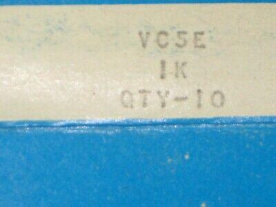 Clarostat 1000 Ohm 5 Watt Resistors Lot Of 12 Boxes Of 10