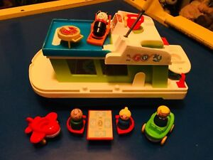 Vintage Fisher Price Yacht toy