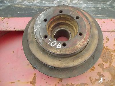 Farmall 706 Tractor Original Ih Ihc Gas Engine Motor Front Double Pulley
