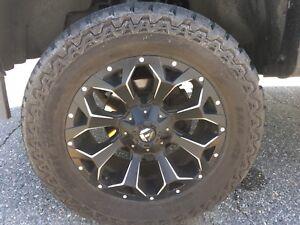 Fuel assault wheels