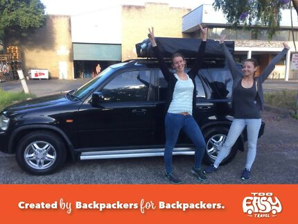 WE HAVE YOUR DREAM BACKPACKER 4X4