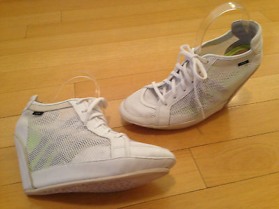 Adidas Slvr Climacool White Net Wedge Shoes Womens Size 10 5 M