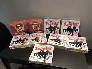 Board Games Brand New In Box (twister&speak out