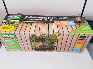 Holman greenwall wall vertical garden mounting kit Collingwood Park Ipswich City Preview