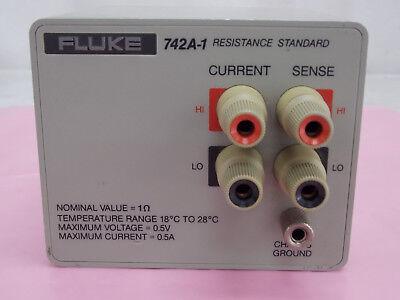 Fluke 742a-1 Resistance Standard Tested