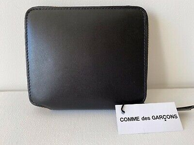 Comme Des Garçons Leather Wallet Model SA2100 in Black BNIB $199 -40% OFF