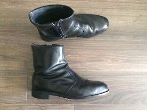 Men's Leather Boots -made in UK - size 8