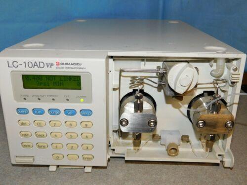 SHIMADZU LC-10AD VP HPLC PUMP LIQUID CHROMATOGRAPH WITH REMOTE CABLE