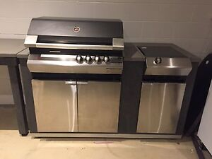 Ziegler & Brown BBQ COST $5600 with Side Table - AS NEW Wamberal Gosford Area Preview