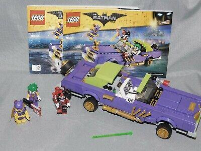 The LEGO Batman Movie set 70906 Joker Notorious Lowrider w/ Minifig & Instruct