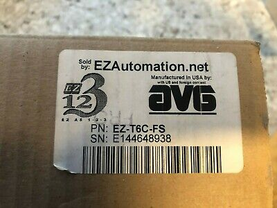 Ezautomation Avg Automation Direct Touchscreen Ez-t6c-fs - Factory Sealed Box