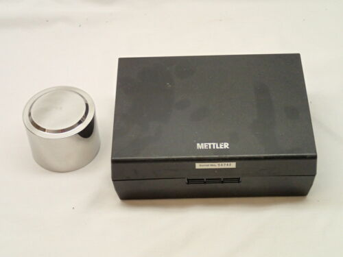 Mettler 2KG Calibration Weight with Case User Item