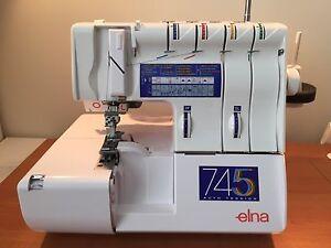 ELNA 745 Overlocker **NEW** Cherrybrook Hornsby Area Preview