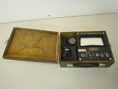 Photo Research Fc200 Photometer 1-300fc In Wooden Case Priced To Move