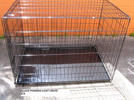 NEW XXL Collapsible Metal Dog Puppy Cage Crate with metal tray