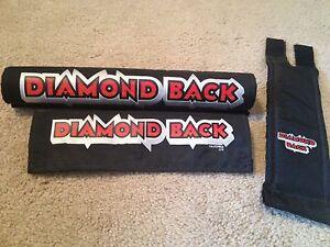 ORIGINAL VINTAGE DIAMOND BACK BMX PAD SET