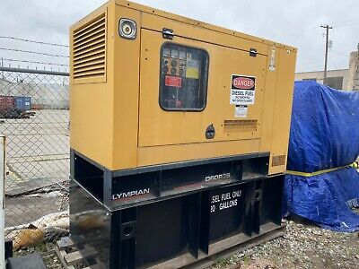 Olympian Generator 50 Single Phase Kw Ll 3014b 4698.2 Hours Working
