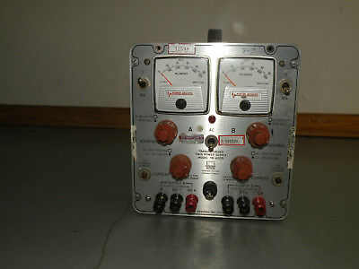Pdi Power Designs Inc Tw-4005 40v 500ma Power Supply Load Tested