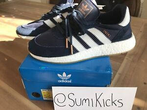 Adidas Iniki Boost - NEW / Deadstock. Blue Size Men's 7.5