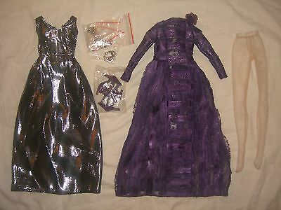 ROMANTIC MOOD Prudence Ellowyne Wilde Tonner Doll OUTFIT Purple Dress 500 Made