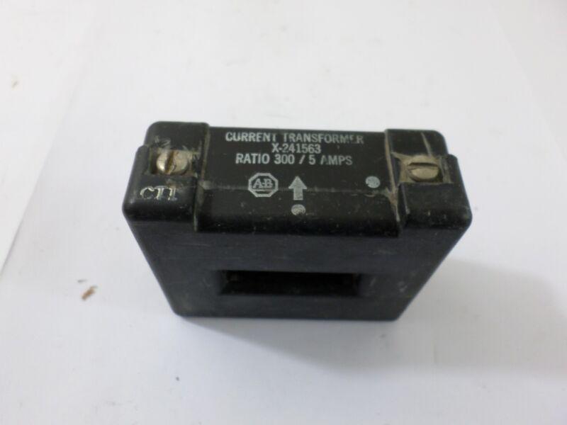 Allen Bradley X-241563 Current Transformer Ratio 300 / 5 AMP
