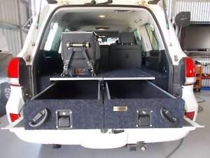 4WD drawer, 4x4 drawers, rear drawers, camping drawers perth