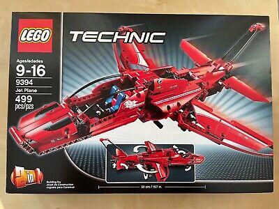 Used Lego Technic Jet Plane Set 9394