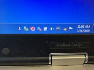"""HP Elitebook 8440p Laptop and Dell 24"""" monitor"""
