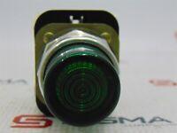 Image Allen-Bradley 800T-QB24 Green Illum. Pushbutton Ser T w/ 800T-XA Block Ser D
