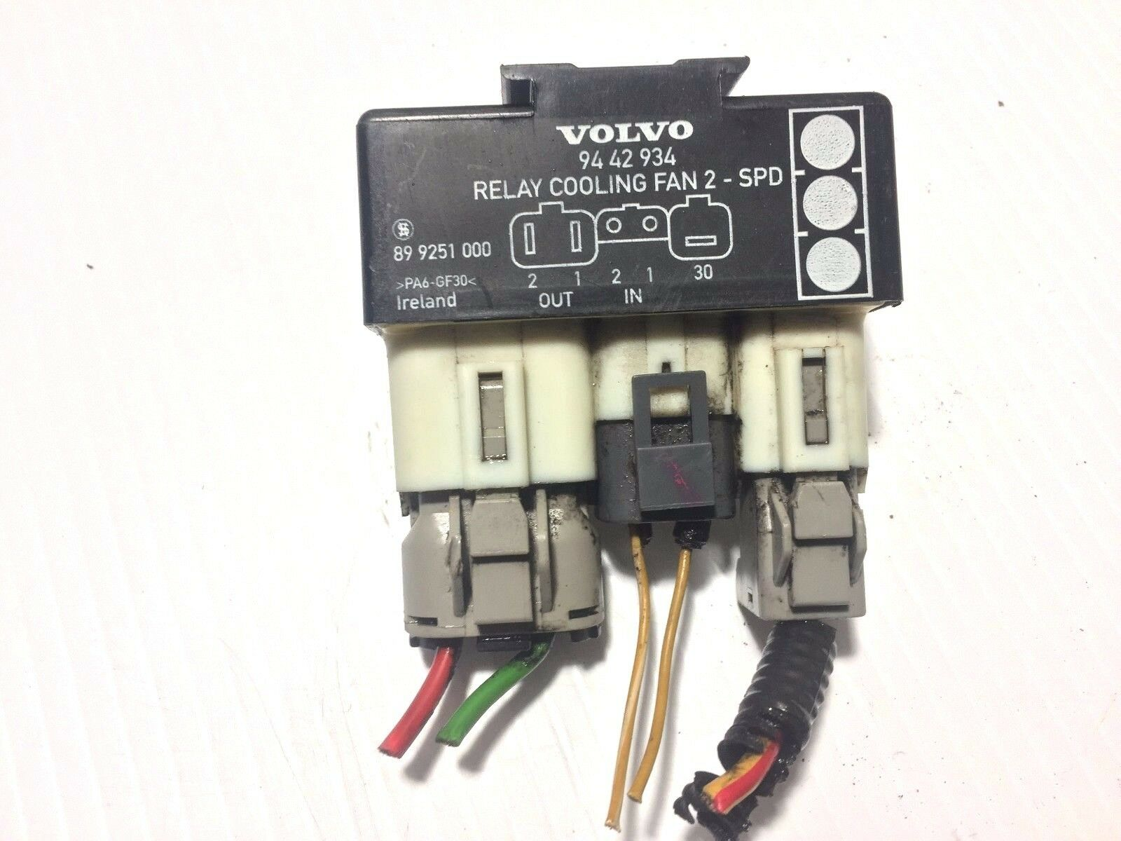 Used Volvo Cooling Systems For Sale 2004 Xc90 Wiring Fan Control Unit Relay 1942 1994 934 9442934 Oem Part