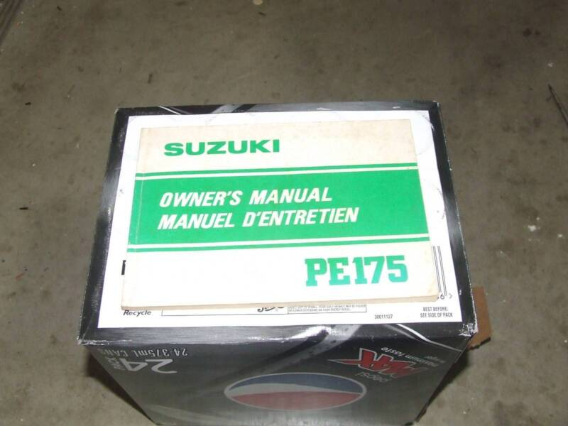 suzuki pe 175 owners manual motorcycle scooter parts gumtree rh gumtree com au Suzuki Er125175 Suzuki Er125175