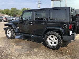 2014 Jeep Wrangler Unlimited Sahara 4WD **NEW PRICE**